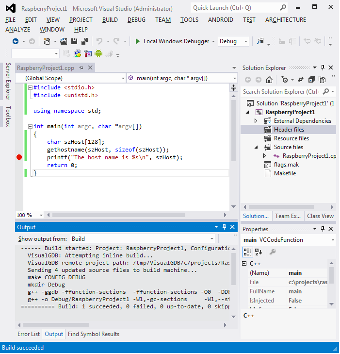 Cross-compiling Qt Apps for #RaspberryPi with Visual Studio