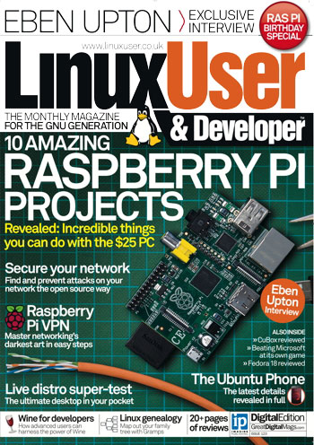 Linux User & Developer Issue 123 - Great Digital Mags