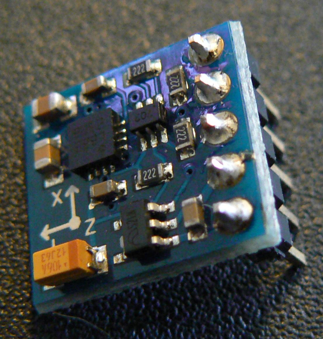 Using A Hmc5883l Magnetometer Compass With The Raspberrypi Raspberry Pi Hc Sr04 Wiringpi P1370741