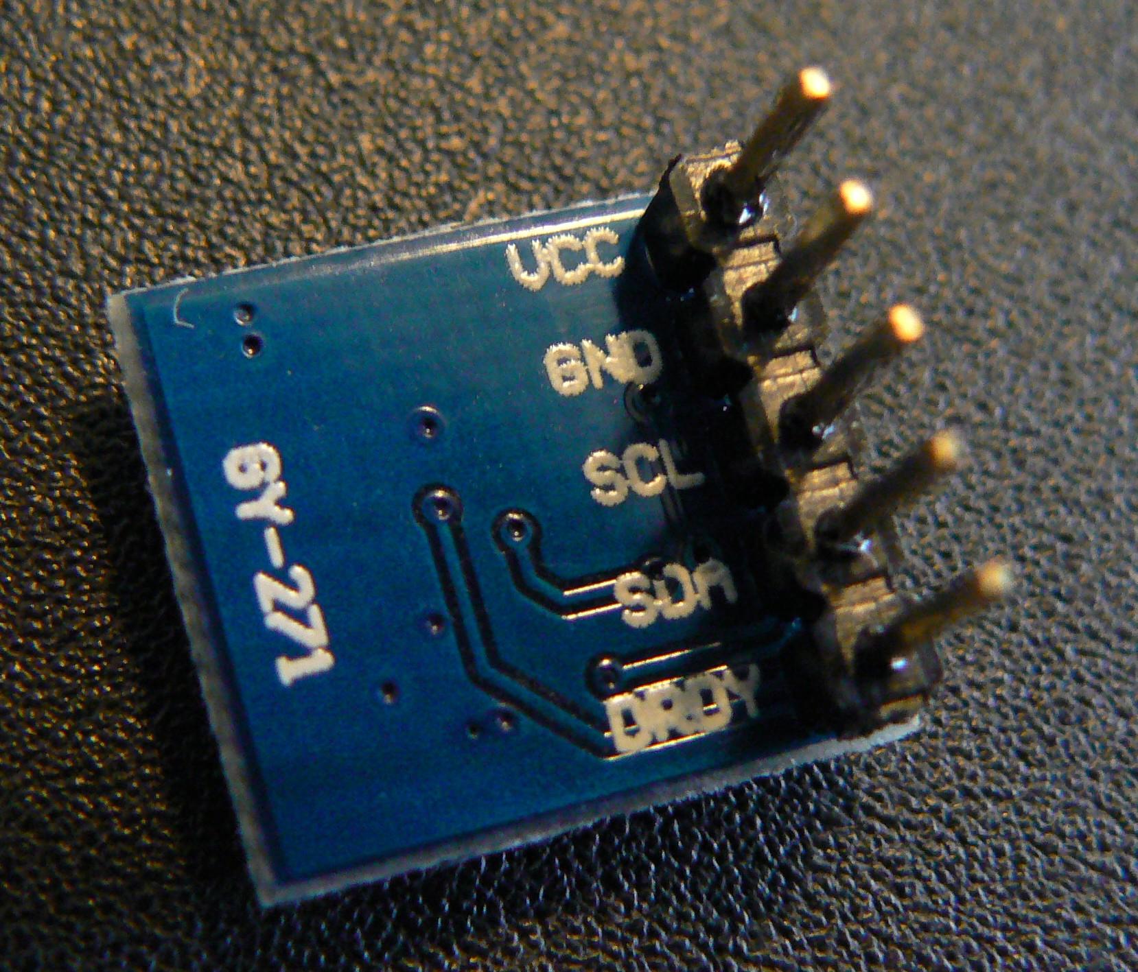 Using A Hmc5883l Magnetometer Compass With The Raspberrypi Wiringpi I2c Write P1370746