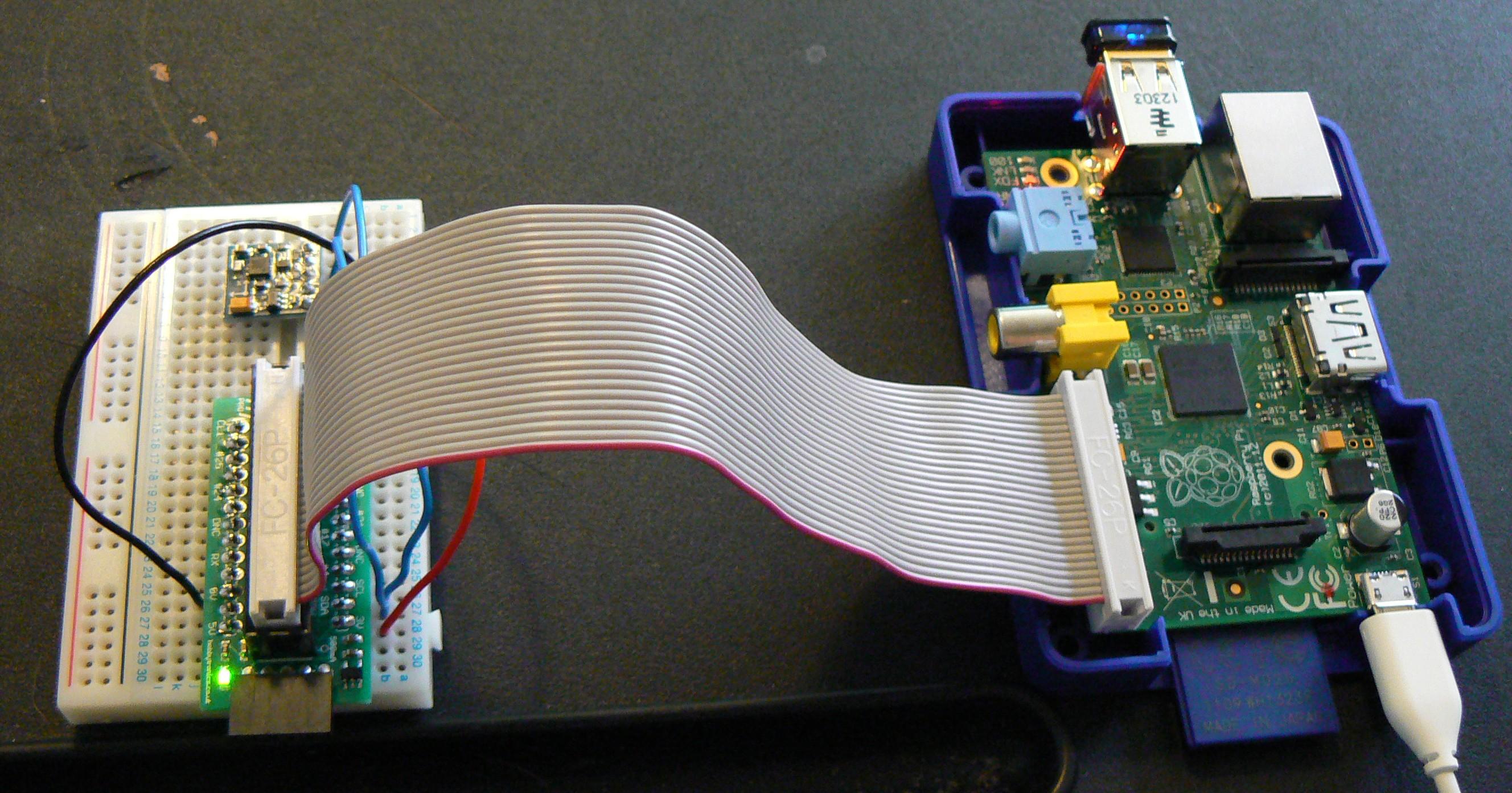 Using A Hmc5883l Magnetometer Compass With The Raspberrypi Raspberry Pi Hc Sr04 Wiringpi P1370748