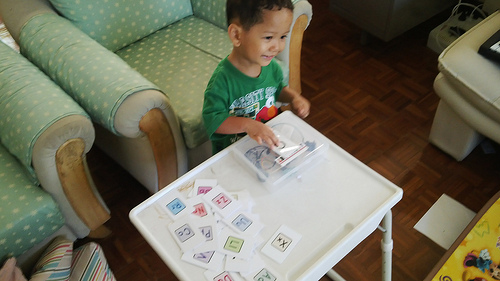 RFID based toy/game for toddlers | Tinyhack.com