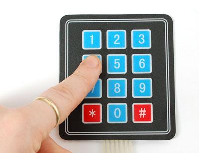 use a 3 4 matrix keypad with the raspberrypi raspberry pi pod rh recantha co uk Matrix Keypad LED To 16 Keypad Interface Pic Microcontroller