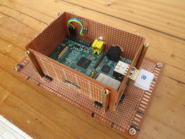 Stripboard Case For The Raspberrypi Raspberry Pi Pod