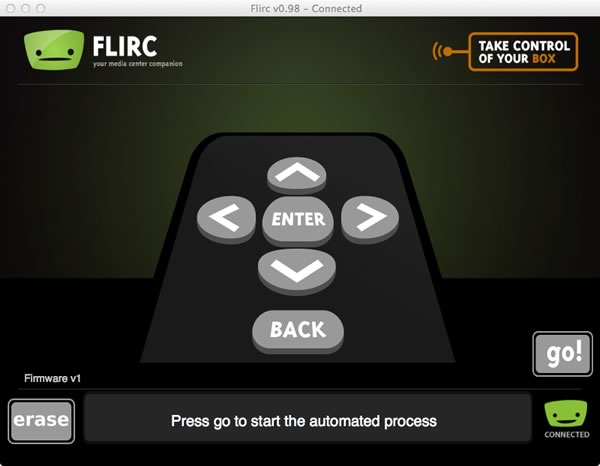 Make any remote into a Pi remote with FLIRC