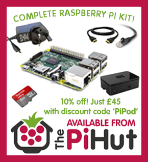 The Pi Hut - everything you need for the Raspberry Pi