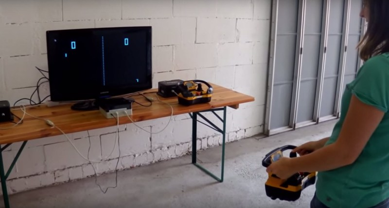 playing-pong-with-a-crane-remote