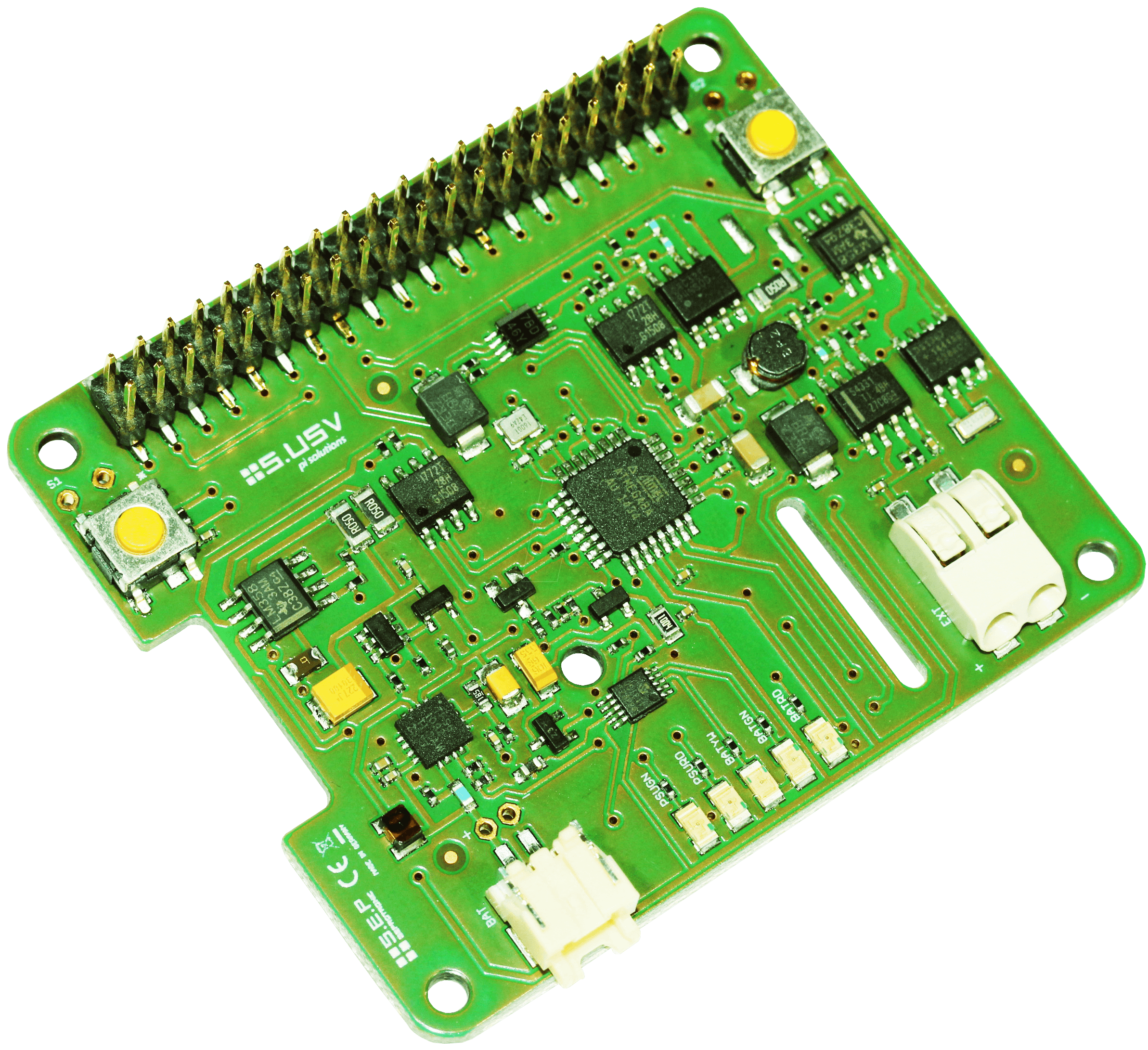 Raspberry Pi Ups Hat From Susv Review Pod Circuit Board