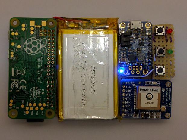 Build A Compact Gps Logger With A Raspberry Pi Zero Raspberry Pi Pod