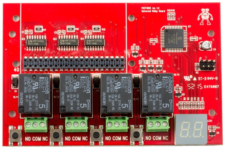ModMyPi PioT relay board