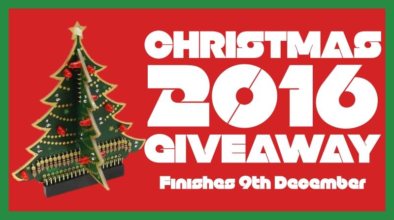 Christmas 2016 giveaway