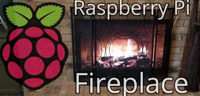 Raspberry Pi Fireplace