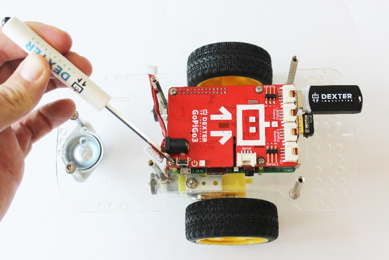 GoPiGo 3 from Dexter Industries for the Raspberry Pi – a