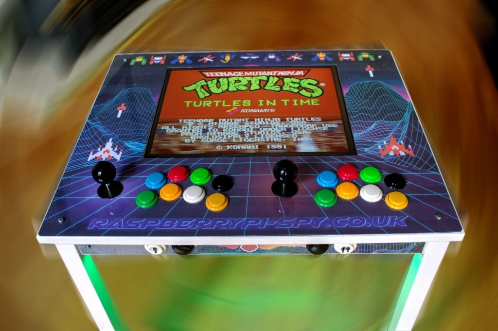 Build A Retro Arcade Console With An Ikea Table And A
