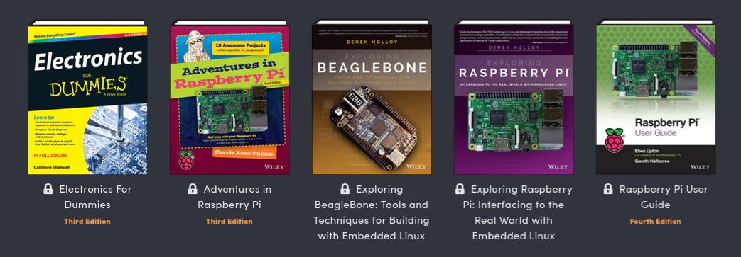 Humble bundle features raspberry pi and arduino e books at