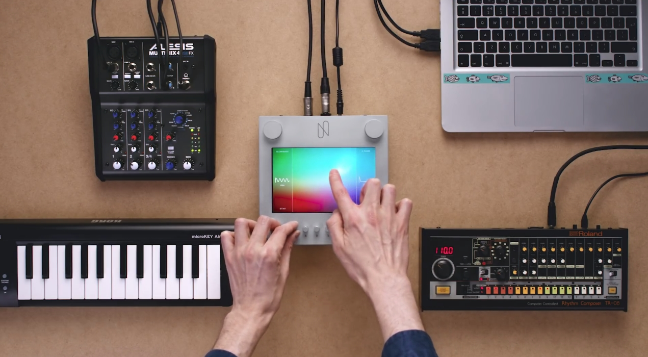 Nsynth, the Raspberry Pi touch-interface music synthesizer