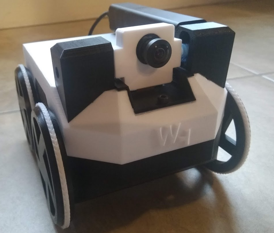 Make your own low-cost 3D-printed robot controlled by a Raspberry Pi