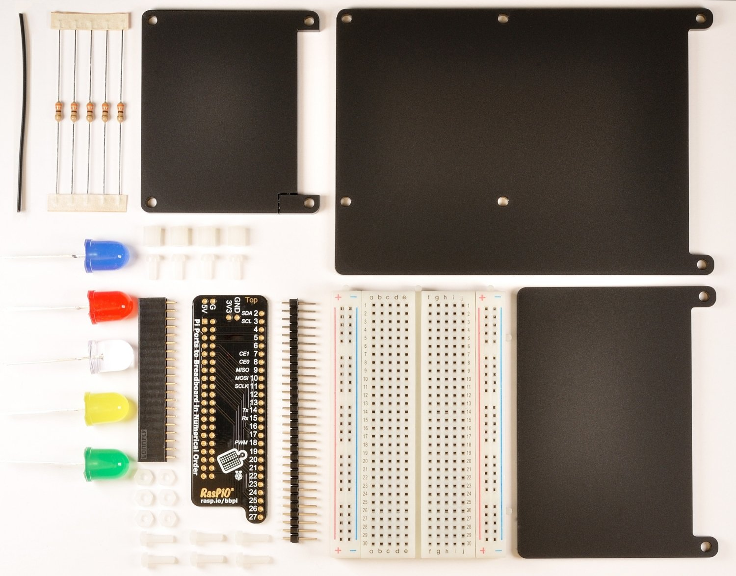 Make breadboarding your Raspberry Pi projects easier with
